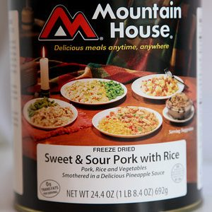 Sweet & Sour Pork can