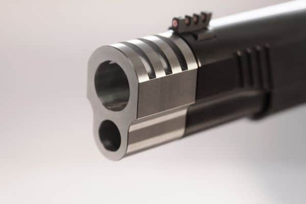 Punisher Style 1911 Compensator Machine Finish