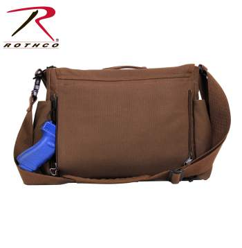 Messenger Style Bag Concealed Carry Weapon Ccw 91218